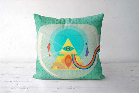 Pink Floyd Fan Art Cushion Covers | Artist : Deepikah Bhardwaj