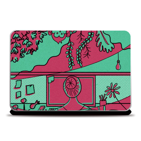 Escape! Laptop Skins | Artist : devika art