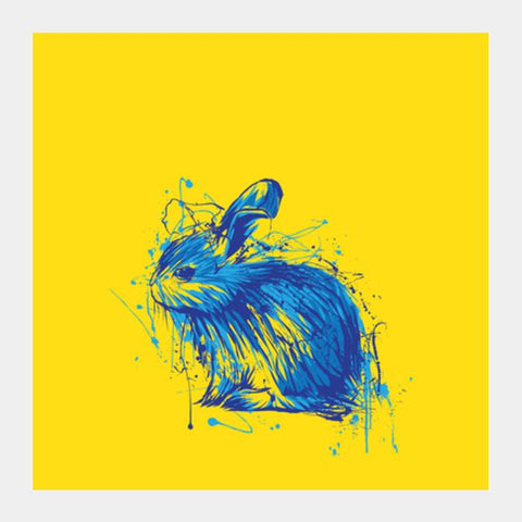 Rabbit Square Art Prints PosterGully Specials