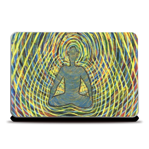 Laptop Skins, Satchidananda - Blissful Exprience of Pure Consciousness Laptop Skins | Artist : Luke's Art Voyage, - PosterGully