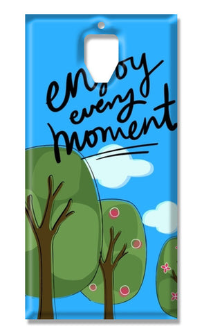 Enjoy every moment OnePlus 3-3T Cases | Artist : Pallavi Rawal