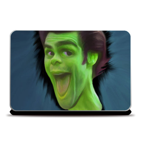 Laptop Skins, jim carry carricature Laptop Skins | Artist : Jayant Rana, - PosterGully
