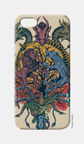 iPhone 5 Cases, Game of Thrones iPhone 5 Case | Artist: Monisha Miriam, - PosterGully