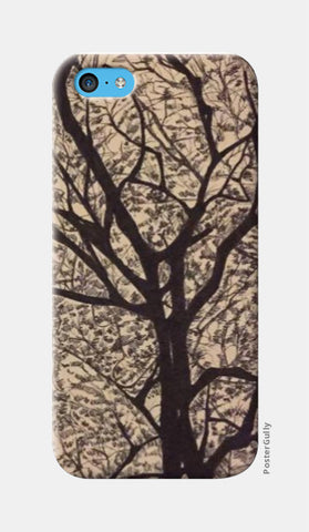 iPhone 5c Cases, Trees Ink trails iPhone 5c Case | Artist: Archana Narendran, - PosterGully