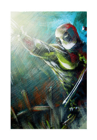 Wall Art, Deadpool Painting Wall Art | Artist : Smeet Gusani, - PosterGully