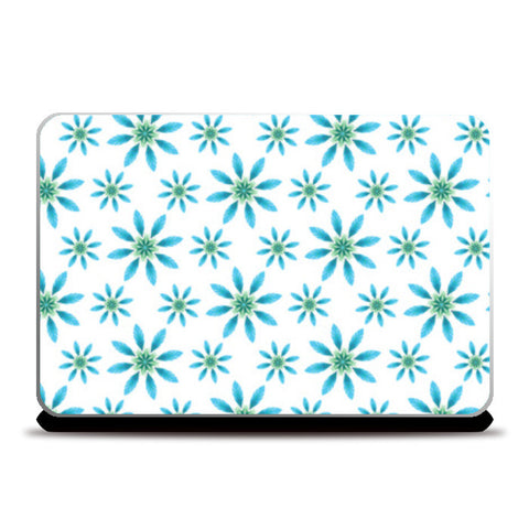 Flower Pattern Laptop Skins | Artist : Delusion