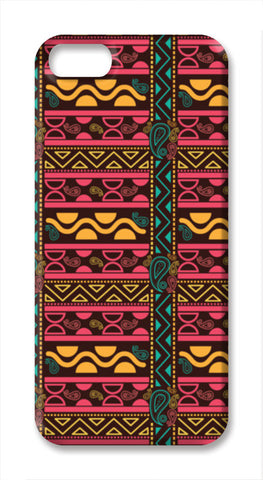 Abstract geometric pattern african style iPhone SE Cases | Artist : Designerchennai