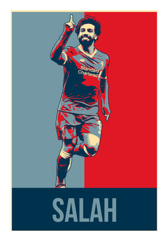 Mohamed Salah | #footballfan Wall Art | Artist : Creative DJ