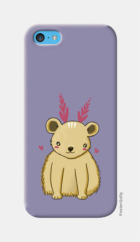 Cute Baby Bear iPhone 5c Cases | Artist : Prajakta Rao