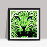 Look into my blue eyes Square Art Prints | Artist : Durro Art
