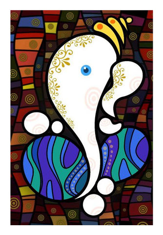 Wall Art, Ganesh Wall Art | Artist : Raviraj Kumbhar, - PosterGully