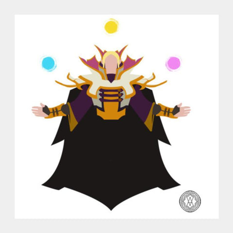 PosterGully Specials, Invoker Square Art Prints | Artist : Abhimanyu Krishna, - PosterGully