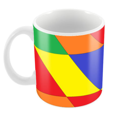 Colour Pattern Coffee Mugs | Artist : Megha Vohra