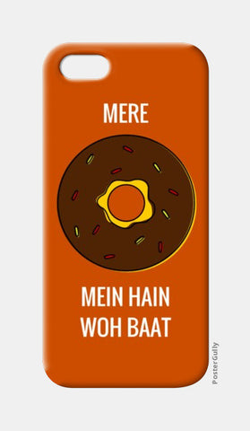 iPhone 5 Cases, Mere doughnut / donut mein hain woh baat |  iPhone 5 Cases | Artist : Nikhil Wad, - PosterGully