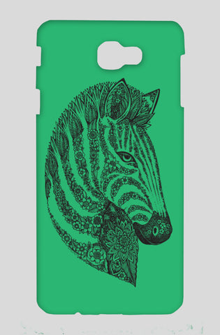 Floral Zebra Head Samsung On Nxt Cases | Artist : Inderpreet Singh