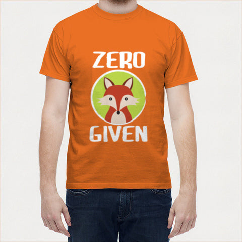 Men T Shirts, Zero Fox Given Men T Shirts | Artist : Random Chinese Friend, - PosterGully - 1