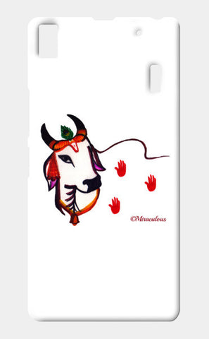 Gaiya | The adorable Indian Cow Lenovo K3 Note Cases | Artist : Miraculous