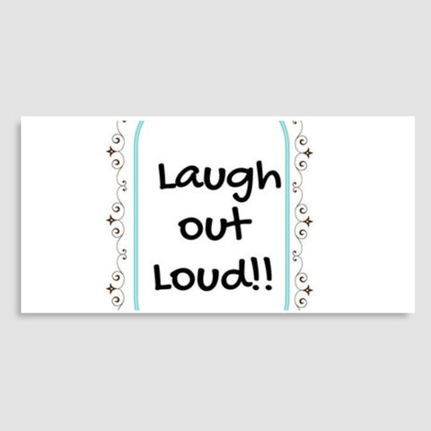 Laugh out Loud Door Poster | Artist : Pallavi Rawal