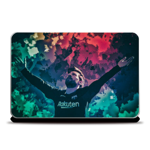 Messi Laptop Skins | Artist : Minimal