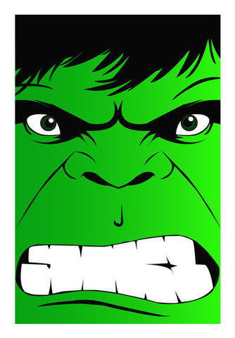 HULK Wall Art | Artist : soumik parida