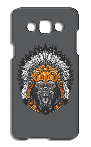 Gorilla Wearing Aztec Headdress Samsung Galaxy A5 Cases | Artist : Inderpreet Singh