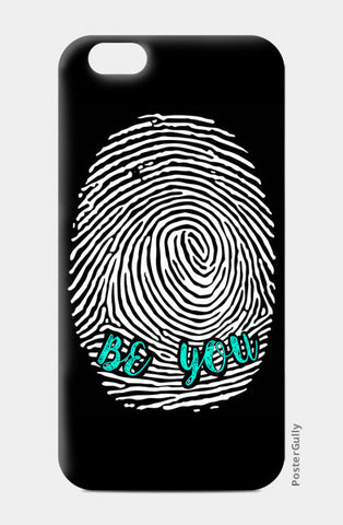 Be Unique Be You iPhone 6/6S Cases | Artist : safira mumtaz