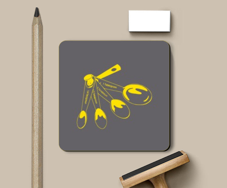 Coasters, MEASURING SPOON Coasters | Artist : Sonia Punyani, - PosterGully