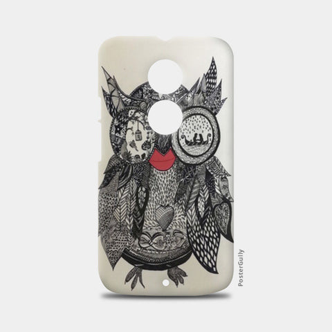 The Mystic Owl Moto X2 Cases | Artist : Quirky Designs by Priyanka Singhania