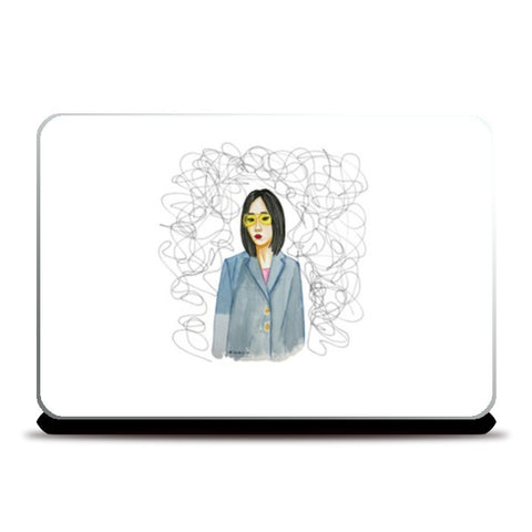 Thought Burst Laptop Skins | Artist : Fashion Lover
