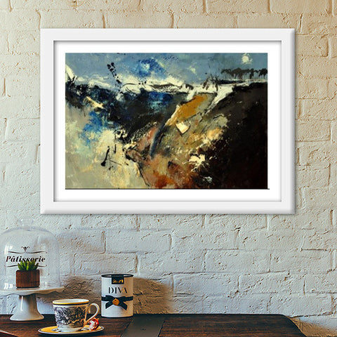 abstract 55214 Premium Italian Wooden Frames | Artist : pol ledent