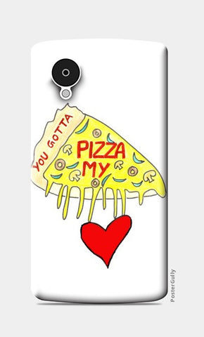 Pizza Love Nexus 5 Cases | Artist : Ajooni Singh