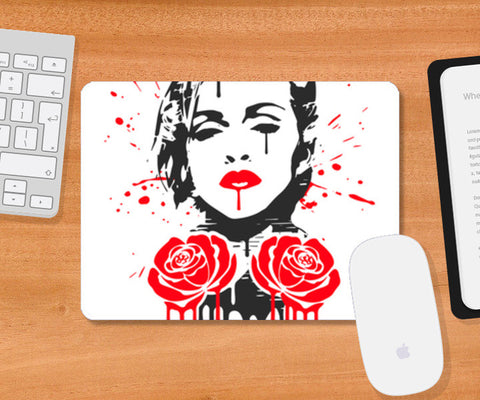 Rebel Heart Mousepad | Artist : Durro Art