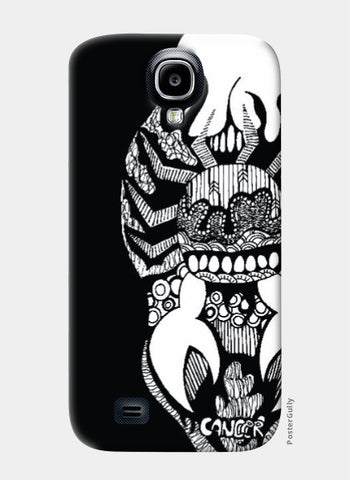 Samsung S4 Cases, Zodiac series_Cancer Samsung S4 Case | SketchMyPages, - PosterGully