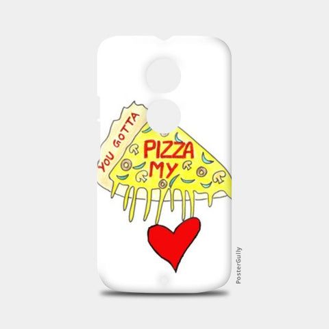 Pizza Love Moto X2 Cases | Artist : Ajooni Singh