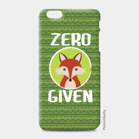 iPhone 6/6S Plus Cases, Zero Fox Given iPhone 6 Plus/6S Plus Cases | Artist : Random Chinese Friend, - PosterGully