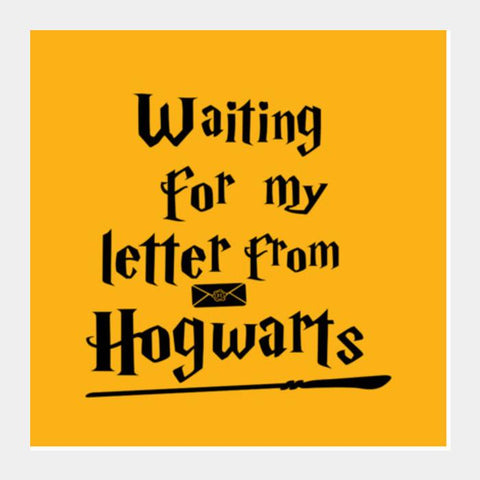 PosterGully Specials, Letter from Hogwarts Square Art Prints | Artist : Manju Nk, - PosterGully