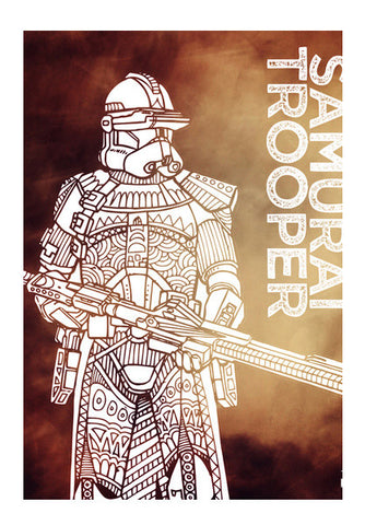 SAMURAI TROOPER Wall Art | Artist : GRAFIIKKA
