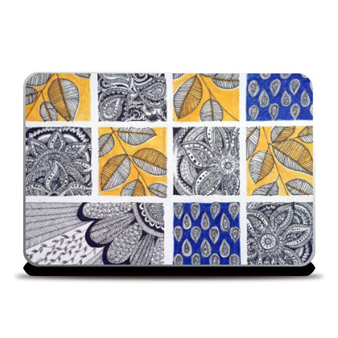 Laptop Skins, Patterns I Ink trails Laptop Skin | Artist: Archana Narendran, - PosterGully