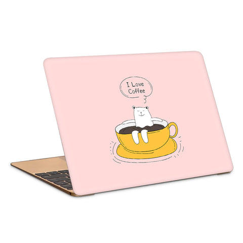Coffee Lover Chill Artwork Laptop Skin