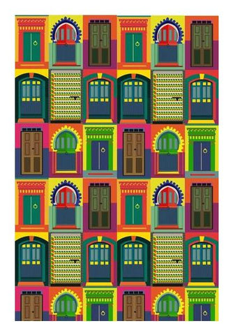PosterGully Specials, THE MAGIC GATEWAY! Wall Art | Artist : DISHA BHANOT, - PosterGully