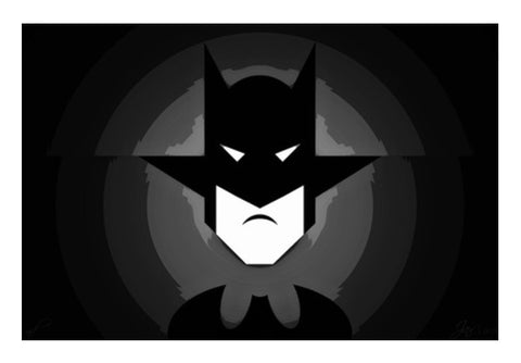 Wall Art, Mr. Bat Black Wall Art  | Artist : Jax D, - PosterGully
