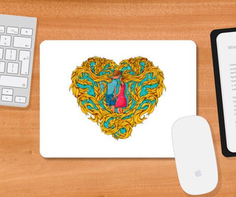 Forever in Love Mousepad | Artist : Harsimran sain