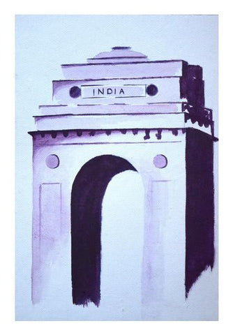 PosterGully Specials, India Gate Wall Art | Artist : Rahul Tanwar, - PosterGully