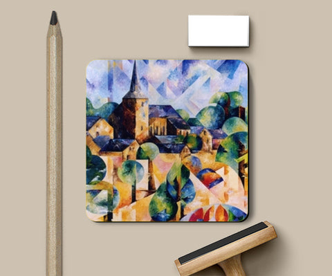 Countryside Coasters | Artist : BEDEUR Beatrice