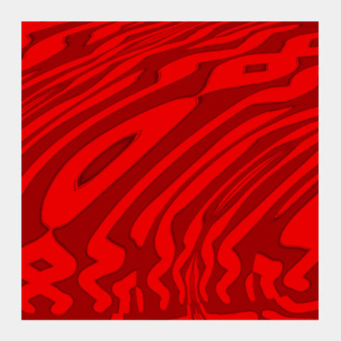 Red Fall Square Art Prints | Artist : Hemant Kumar Gandhi