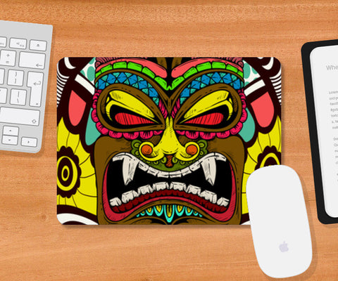 Tiki Monster Mousepad | Artist : Pulkit Taneja