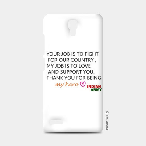 my hero INDIAN ARMY Redmi Note Cases | Artist : ashman's