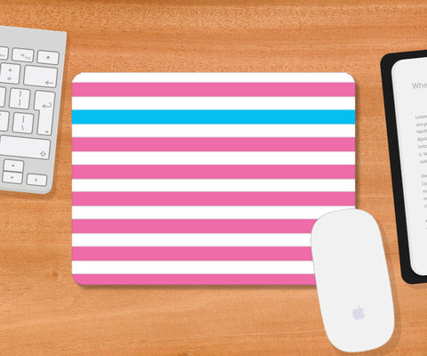 Happy Stripes 2 Mousepad | Artist : Vaishak Seraphim