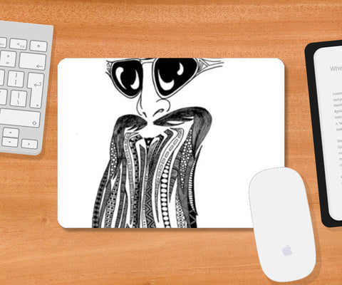 That beard guy  Mousepad | Artist : mona singh