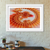 Premium Italian Wooden Frames, Lizard on the Wall Premium Italian Wooden Frames | Artist : CK GANDHI, - PosterGully - 6